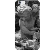 Cherub Belle Isle Conservatory BW iPhone Case/Skin