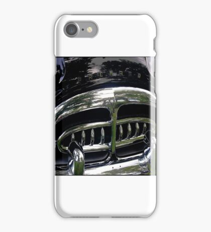 1951 Packard Patrician Grill iPhone Case/Skin