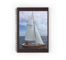 Denmark - Aarhus sailing Spiral Notebook
