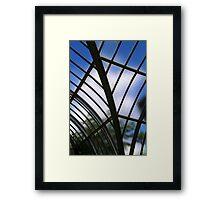 Conservatory Glass Framed Print