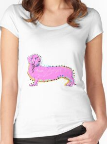 Always Keep Your Doxie Around You Women's Fitted Scoop T-Shirt