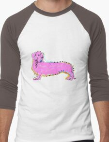 Always Keep Your Doxie Around You Men's Baseball ¾ T-Shirt
