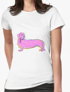 Always Keep Your Doxie Around You Womens Fitted T-Shirt