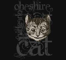 Alice In Wonderland Cheshire Cat Grunge Unisex T-Shirt