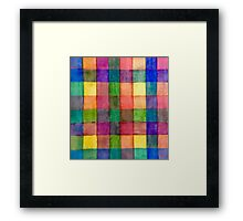 Colorful Stripes 1  Framed Print