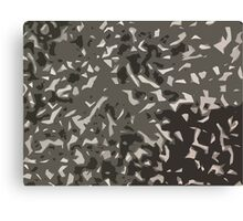 Black and White Camouflage? Canvas Print