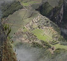 a view from Wayna Picchu by Amanda Huggins