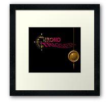 Chrono Trigger - Logo Framed Print