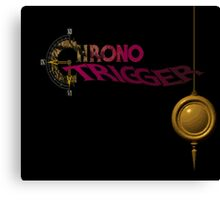 Chrono Trigger - Logo Canvas Print