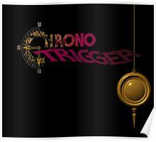 Chrono Trigger - Logo Poster