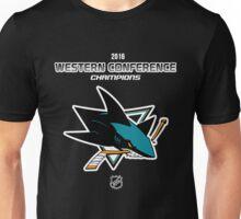 San Jose Sharks - 2015-2016 Western Conference Champions Unisex T-Shirt