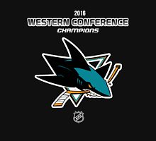 San Jose Sharks - 2015-2016 Western Conference Champions Unisex T-Shirt