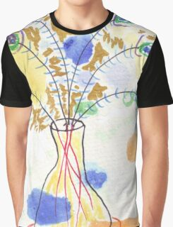 Some Peacock Feathers Graphic T-Shirt