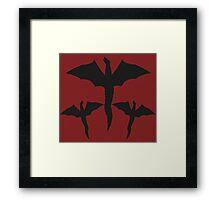 Daenerys Targaryen Mother of Dragons Design. Framed Print
