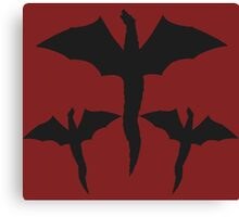 Daenerys Targaryen Mother of Dragons Design. Canvas Print