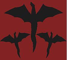 Daenerys Targaryen Mother of Dragons Design. Photographic Print
