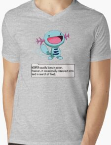 Wooper Mens V-Neck T-Shirt