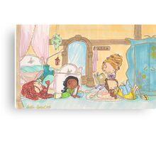 Princess Sleepover Canvas Print