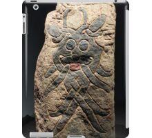Denmark - Højbjerg Moesgaard Museum Viking Age Mask Stone iPad Case/Skin