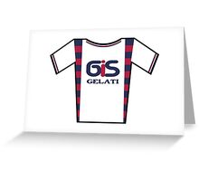 Retro Jerseys Collection - GiS Gelati Greeting Card