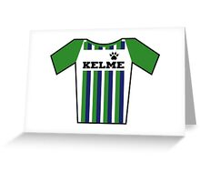 Retro Jerseys Collection - Kelme Greeting Card