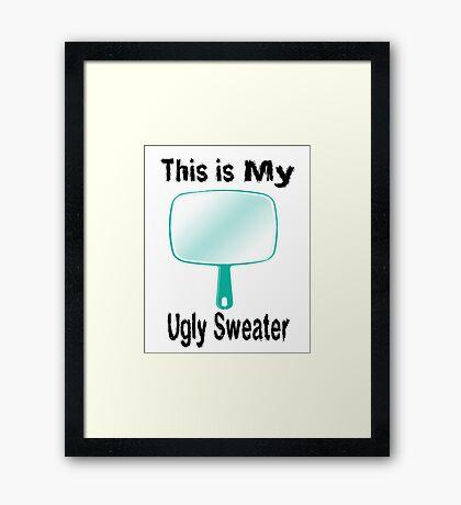 Ugly Sweater Framed Print