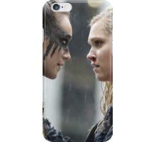 Clexa - Clarke Lexa - Poster iPhone Case/Skin
