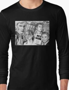 Doctor Who the sound of drums Long Sleeve T-Shirt