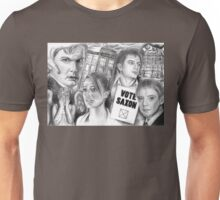 Doctor Who the sound of drums Unisex T-Shirt