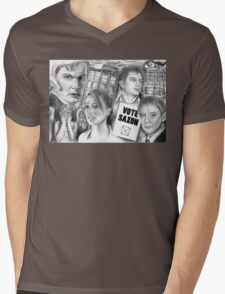 Doctor Who the sound of drums Mens V-Neck T-Shirt
