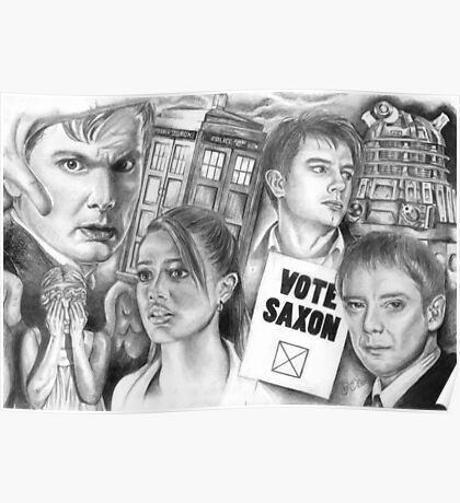 Doctor Who the sound of drums Poster