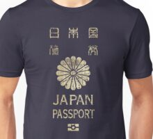 Japanese Passport Unisex T-Shirt