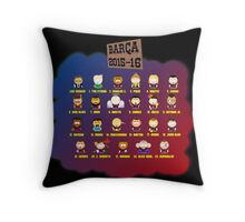 Barça Park 2015-16 Throw Pillow