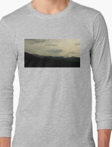 Mountains and Sky Long Sleeve T-Shirt