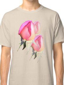 Pink Rosebud  Classic T-Shirt