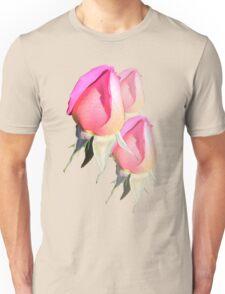 Pink Rosebud  Unisex T-Shirt