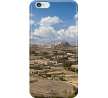 Gozo countryside in colour iPhone Case/Skin