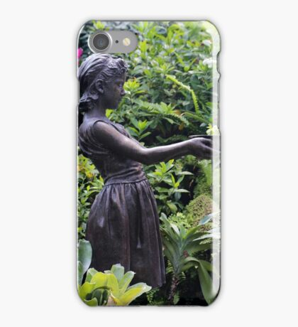 Statue Belle Isle Conservatory 2 iPhone Case/Skin