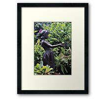 Statue Belle Isle Conservatory 2 Framed Print