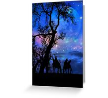 Pegasus and Moon Greeting Card