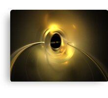 Copper Orbit Canvas Print