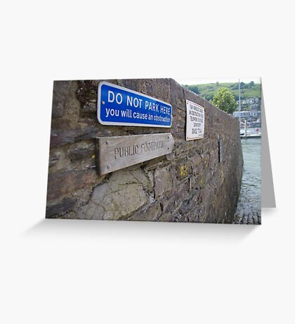 Footpath? Greeting Card