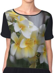 Beautiful Tropical Flowers 1 Chiffon Top