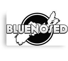 Bluenosed Logo Canvas Print