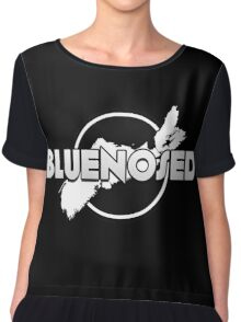 Bluenosed Logo Chiffon Top