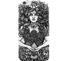Divine Mother Gea Tree / BW iPhone Case/Skin