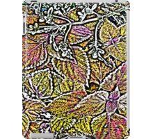 Leaves #7d iPad Case/Skin