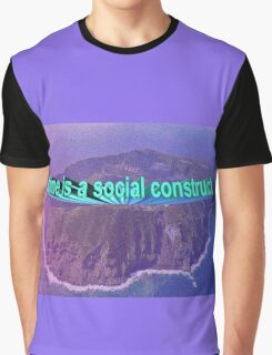 A E S T H E T I C Time is a Social Construct Clothing Graphic T-Shirt