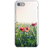 poppy in the wind iPhone Case/Skin