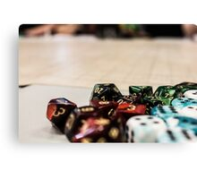 More Dice! Canvas Print